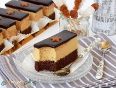 Prajitura Caramel de cofetarie Tiramisu, Mousse, Bacon, Cheesecake, Gluten, Ice Cream, Ethnic Recipes, Sweet, Food