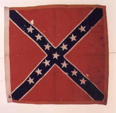 "44th Alabama Infantry (Probable).  This flag is a second wool bunting issue Army of Northern Virginia battle flag. It was manufactured at the Richmond Clothing Depot in June, 1862. The flag was captured at the ""Sunken Lane"" during the Battle of Antietam (Sharpsburg) on September 17, 1862 by 2nd Lt. Theodore W. Grieg, Co. C, 61st New York Volunteer Infantry. Grieg was later recommended for and finally received the Congressional Medal of Honor on February 10, 1887."