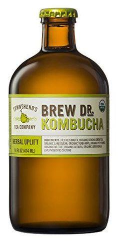 10 Best Kombucha Brands To Drink, According Nutritionists Best Kombucha, Kombucha Brands, Organic Raw Kombucha, Fermented Tea, Tea Companies, Pineapple Coconut, New Flavour, Gut Health