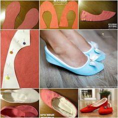 Soft Fabric Slippers � DIY