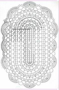Pg 2 of 2: Basic Oval Doily Chart