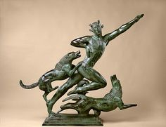 Actaeon // by Paul Manship - Miguel Catalan