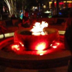 Fire pit  at T bones #blogalicious12 #vegaslicious - @vegaslocaldad- #vegasbloggers