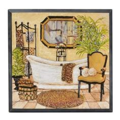 Touch of the Exotic I Plaque | Kirklands