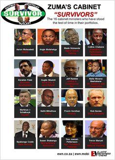 Zuma's Cabinet 'Survivors'