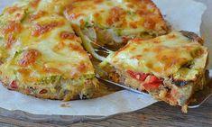 Quiche aux légumes sans pâte avec Thermomix, une recette de quiche facile et rapide à réaliser avec de bons légumes .