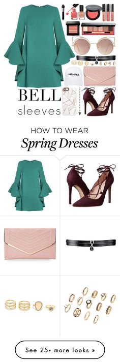 """""""Show Off"""" by arrow1067 on Polyvore featuring Bobbi Brown Cosmetics, By Terry, Massimo Matteo, Casetify, Sasha, Nasaseasons, Fallon, LULUS, MANGO and bellsleeves"""