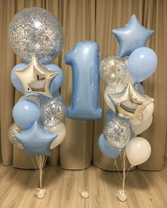 Newest Absolutely Free baby Birthday Decorations Strategies You don't need to . Newest Absolutely Free baby Birthday Decorations Strategies You don't need to use an indoor custo First Birthday Balloons, Boys First Birthday Party Ideas, First Birthday Decorations, Baby Boy First Birthday, 1st Birthday Parties, Baby Boy Birthday Decoration, Baby Boy Balloons, Balloon Decorations, Baby Shower Decorations