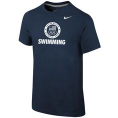 Nike Team USA Swimming Youth Navy Core Sport T-Shirt