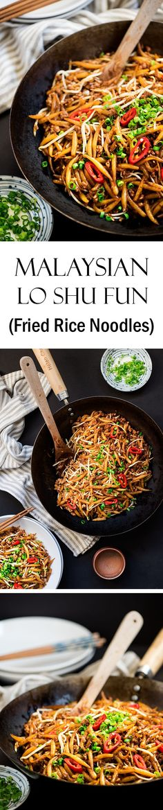 Malaysian's favorite street noodles on the table in less than 15 minutes. Easy, smoky & delicious.
