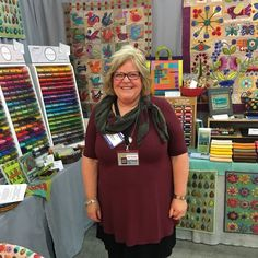 Walking the show and meeting up with many friends! Here's @suespargo  her book #stitchestosavor on the table! #quiltmarket #martingaleatmarket