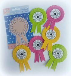6002/0186 Noor! Design Rozet gebruikt voor het maken van kindertraktaties