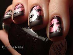 Chloe's Nails: Possible V-Day mani and Konad tutorial