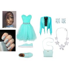 Run-Away Prom Queen by nishthabisht on Polyvore featuring interior, interiors, interior design, home, home decor, interior decorating, Balmain, Vans, Marc Fisher and Tiffany & Co.