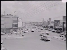 The former McDowells Department Store in Caringbah NSW (left of shot). The shot was from 1964.  It was converted into a Waltons store in the 1970's, and closed down in the late 1980's.  The building is still there, but it was gutted and converted into an office building with ground floor retail.