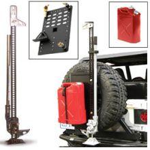 Hi-Lift Cast/Steel Jack Kit with Jerry Can (Red) & Intelligent Rack Jeep Cherokee Parts, Jeep Parts, Ford F150 Accessories, Truck Accessories, Morris 4x4 Center, Diesel, Jimny Suzuki, Cast Steel, Samurai