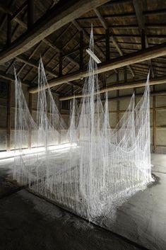 Onishi Yasuaki / 大西康明 - wire, glue, urea