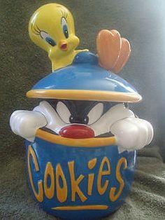 Sylvester & Tweety Cookie Jar