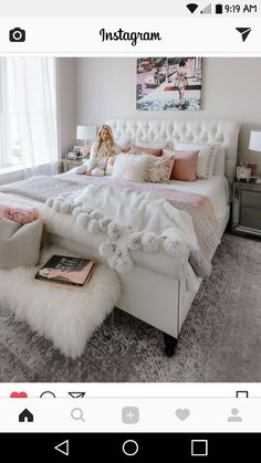 Plush teen girl bedrooms tips for that delightful teen girl room space pin idea Teen Room Decor Ideas Bedrooms Delightful Girl Idea pın Plush Room Space Teen tips Pink Bedrooms, Girls Bedroom, Bedroom Makeover, Pink Bedroom Decor, Woman Bedroom, Bedroom Decor, Simple Bedroom, Cute Bedroom Ideas, Rustic Bedroom