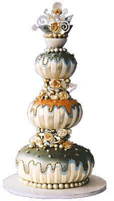 For the Love of Beauty ... with a ♥ for cosmetics, skincare, fragrance, haircare & fashion: 'Tis the Season ... Stunning Wedding Cakes