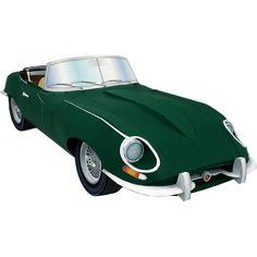 JAGUAR E-TYPE,Vehicles,Paper Craft,United Kingdom [England],automobile,automobile,sports