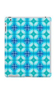 """""""Texture """"east pattern"""" the blue"""" iPad Cases & Skins by floraaplus 