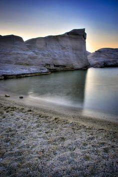 Sarakiniko Beach, Milos Island