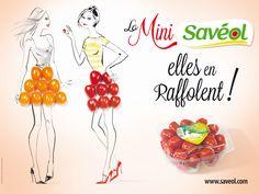 La Mini Savéol, elles en raffolent !!! Retrouvez le coup de crayon de Jacqueline Bissett dans la nouvelle campagne métro !