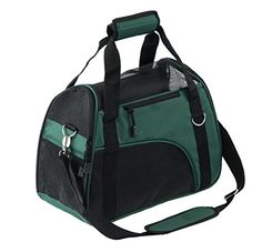 Pet Carrier for Dogs & Cats Comfort Airline Approved Travel Tote Soft Sided Bag