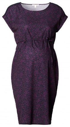 Γυναικείο Κοντομάνικο Φόρεμα Εγκυμοσύνης ESPRIT MATERNITY - σκούρο μπλε