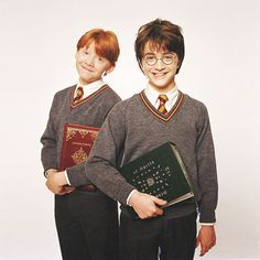 Aww, young Harry and Ron!