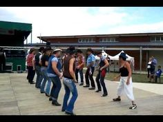 Lindi Shuffle line dance - Looks nice and easy! ...and fun in a contra!