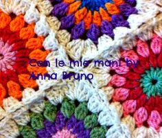 Con le mie mani by Anna Bruno: granny crochet tutorial