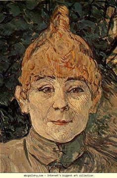 Henri de Toulouse-Lautrec. Casque d'Or. Olga's Gallery.