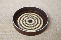 Hornsea Lancaster Muramic dish in brown colour way, circa 1977 -1980. #hornsea #muramic #1970s #hornsealancaster #vintage #midcentury #ceramics #vintageceramics #britishvintage