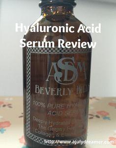 {Beauty Review} ASDM's Hyaluronic Acid Serum ⋆ A July Dreamer