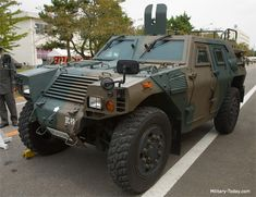 Komatsu LAV Armored scout car