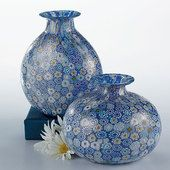 Venetian Millefiori Vases