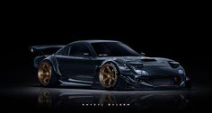 WELCOME TO THE DARKSIDE / FD3S RX-7 by Khyzyl Saleem.More Digital Custom here.