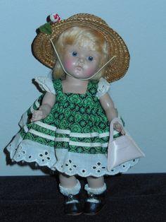 Vintage Vogue Ginny Doll Transitional Group K  Evening Dresses #8-8K Sandy 1950