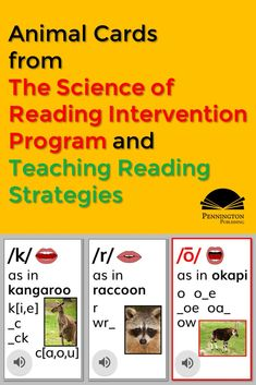 Check out this article with research about sound-spelling cards and free samples. Common Core Vocabulary, Academic Vocabulary, Teaching Vocabulary, Teaching Reading Strategies, Reading Resources, Reading Comprehension, Phonics Books, Phonics Lessons, Response To Intervention