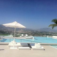Sha Wellness Clinic infinity pool and amazing views