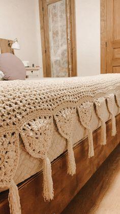 Crochet Lace Edging, Love Crochet, Beautiful Crochet, Crochet Doilies, Crochet Baby, Crochet Home Decor, Crochet Crafts, Crochet Projects, Modern Crochet Blanket