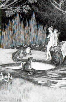 The Disputed Bath Ida Rentoul Sherbourne Outhwaite (1888-1960) Australia