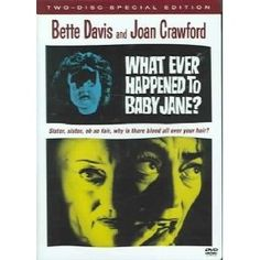 """""""What Ever Happened to Baby Jane?"""" starring Bette Davis and Joan Crawford (1962)"""