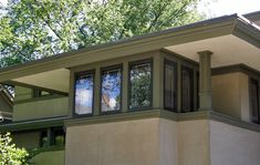Frank Lloyd Wright designed homes in Oak Park, Illinois  - Travel Photos by Galen R Frysinger, Sheboygan, Wisconsin