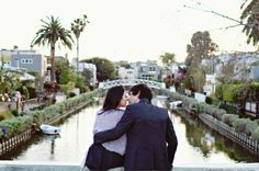 30 Venice Beach Canals Engagement Christina Sanchez Photography