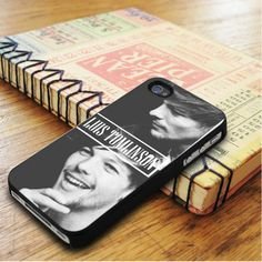 Louis Tomlinson Smiley Singer One Direction iPhone 5|iPhone 5S Case