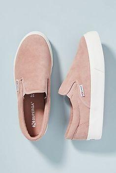 Superga Platform Slip-On Sneakers - Fashion Platform Vans, Platform Slip On Sneakers, Slip On Shoes, Women's Shoes, Cute Shoes, New Shoes, Dress Shoes, Trendy Shoes, Casual Shoes