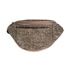 Sofie Schnoor bæltetaske, peach glitter